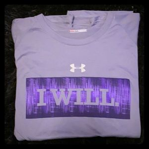 Large (Loose fit) Gray Under Armour t-shirt